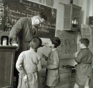 La conjugaison, Robert Doisneau, 1956