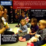 French for Babies & Toddlers- Les Petits Loups- 19/04/16 session